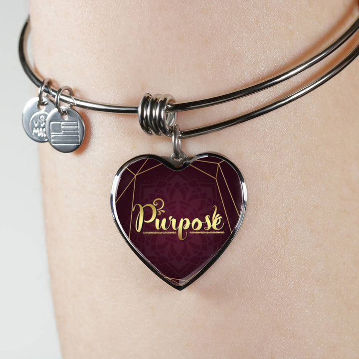 purpose words of intent bangle , omfinite