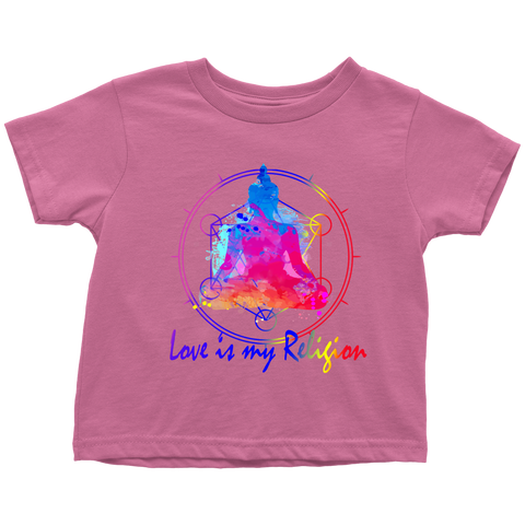 Love Is My Religion Buddha For Kids & Babies - Lyghtt
