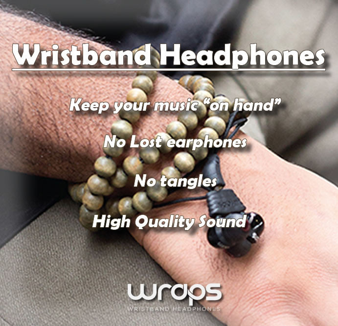 Wraps Natural Earphones