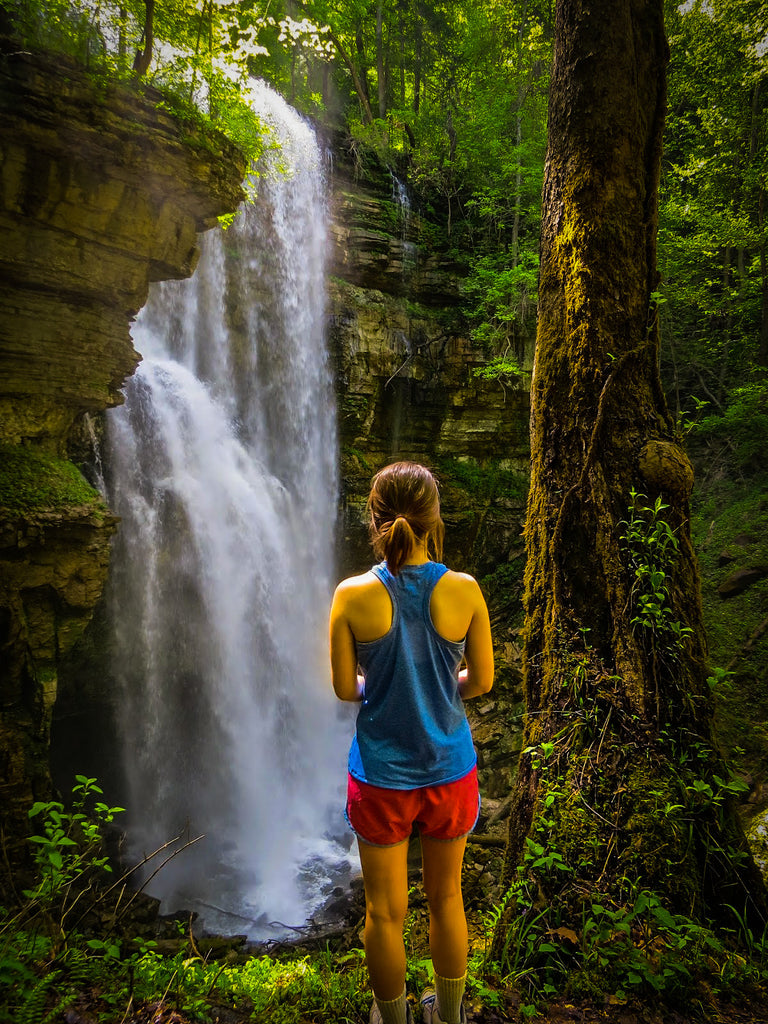 Virgin Falls State Natural Area, Burgess Falls | Edgar Evins State Park Campground | hike | water fall |