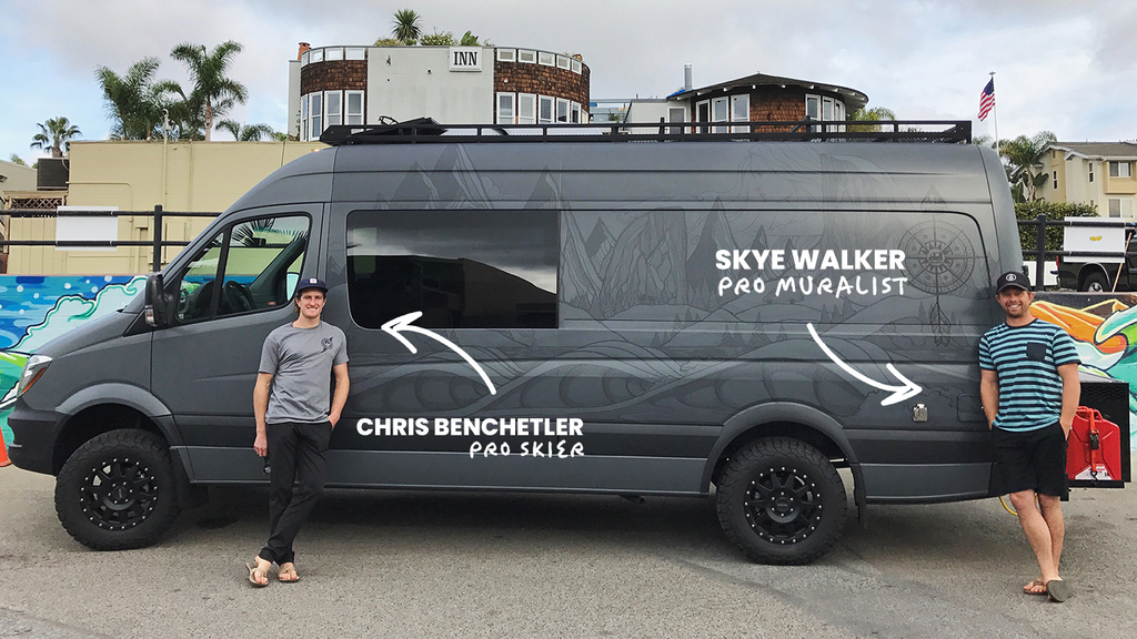 Chris Benchetler and Skye Walker Van tour creation Hammocks