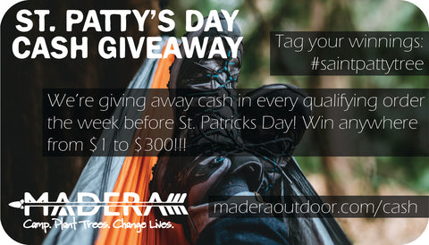 Cash in every order St. Patty's day!