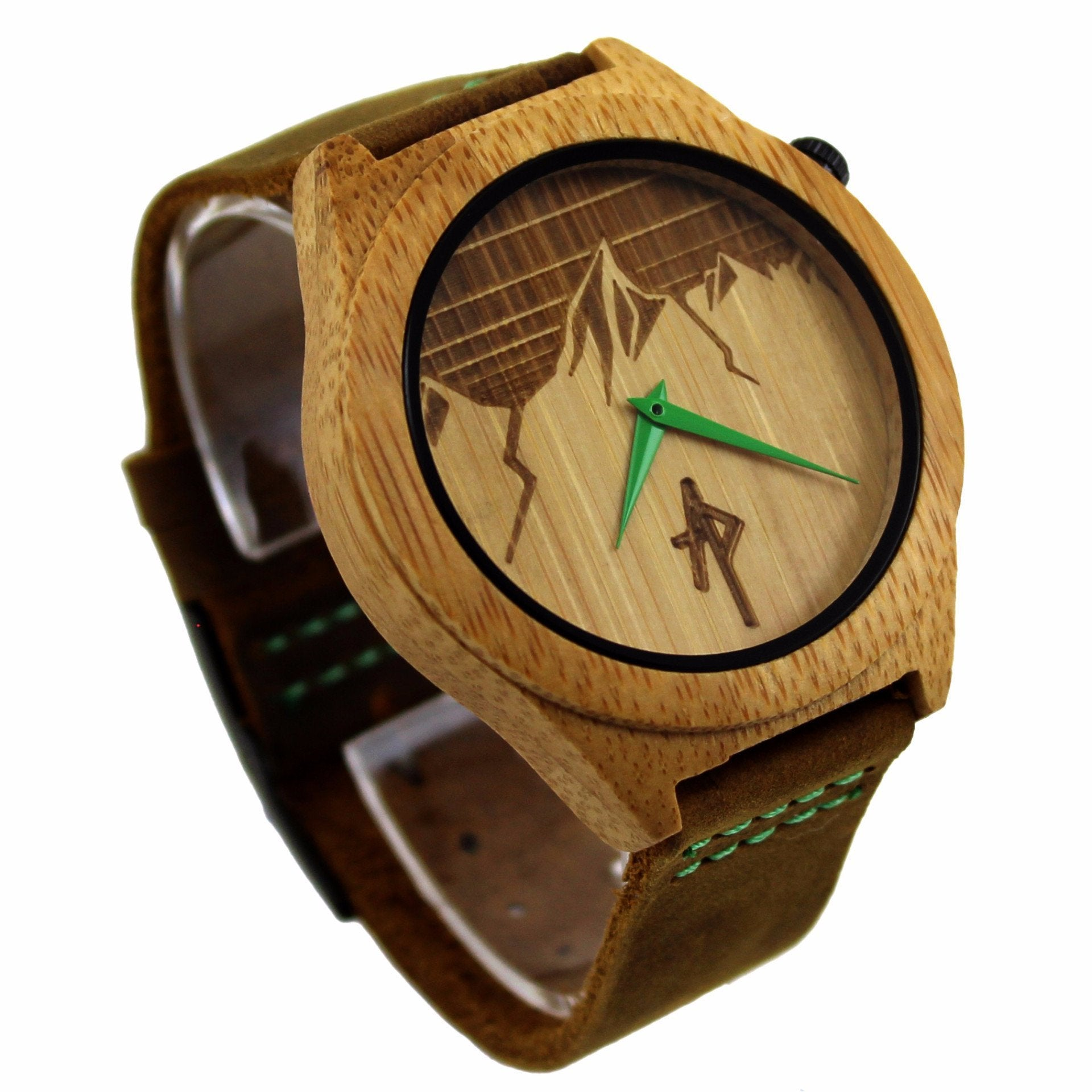 in leo wood eco our sustainable wltebl watches black materials the terra