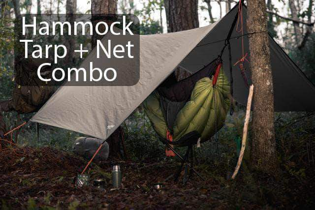Madera Outdoor Funnel Builder Products Apache Ultimate Hammocker's combo: Hammock + Tarp + Bug Net