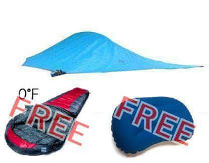 Madera Outdoor  Funnel Builder Products Blue $200 off Tree tent + Free Sleeping Bag & Pillow madera outdoor hammock companies that plant trees best camping hammocks cheap camping hammocks cheap hammocks cheap backpacking hammocks