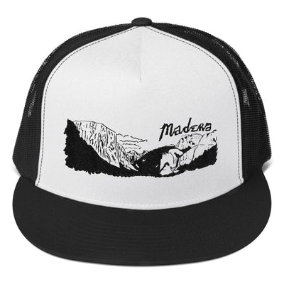 Madera Outdoor  hats Black/ White/ Black El Cap madera outdoor hammock companies that plant trees best camping hammocks cheap camping hammocks cheap hammocks cheap backpacking hammocks
