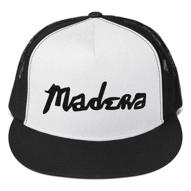 Madera Outdoor  Hats Black/ White/ Black Madera Hand Trucker Cap madera outdoor hammock companies that plant trees best camping hammocks cheap camping hammocks cheap hammocks cheap backpacking hammocks
