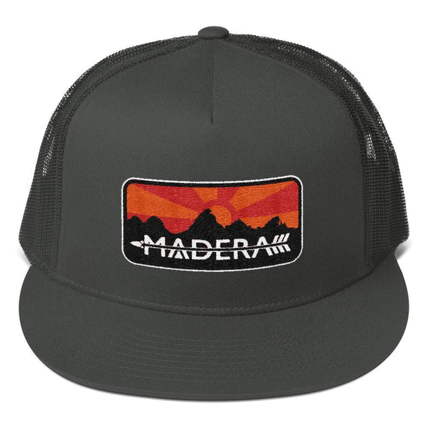 Madera Outdoor  Hats Charcoal Patch Trucker Cap madera outdoor hammock companies that plant trees best camping hammocks cheap camping hammocks cheap hammocks cheap backpacking hammocks