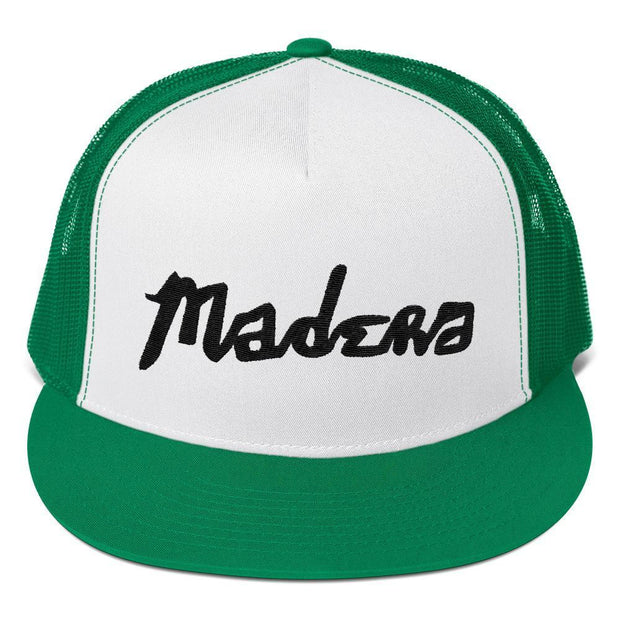 Madera Outdoor  Hats Kelly/ White/ Kelly Madera Hand Trucker Cap madera outdoor hammock companies that plant trees best camping hammocks cheap camping hammocks cheap hammocks cheap backpacking hammocks