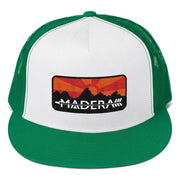 Madera Outdoor  Hats Kelly/ White/ Kelly Patch Trucker Cap madera outdoor hammock companies that plant trees best camping hammocks cheap camping hammocks cheap hammocks cheap backpacking hammocks