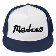 Madera Outdoor  Hats Navy/ White/ Navy Madera Hand Trucker Cap madera outdoor hammock companies that plant trees best camping hammocks cheap camping hammocks cheap hammocks cheap backpacking hammocks