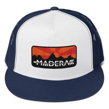 Madera Outdoor  Hats Navy/ White/ Navy Patch Trucker Cap madera outdoor hammock companies that plant trees best camping hammocks cheap camping hammocks cheap hammocks cheap backpacking hammocks