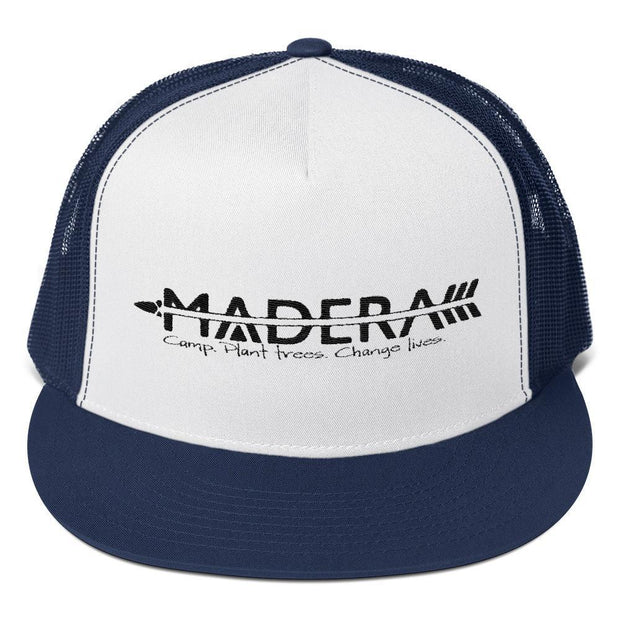 Madera Outdoor  Hats Navy/ White/ Navy Trucker Cap madera outdoor hammock companies that plant trees best camping hammocks cheap camping hammocks cheap hammocks cheap backpacking hammocks