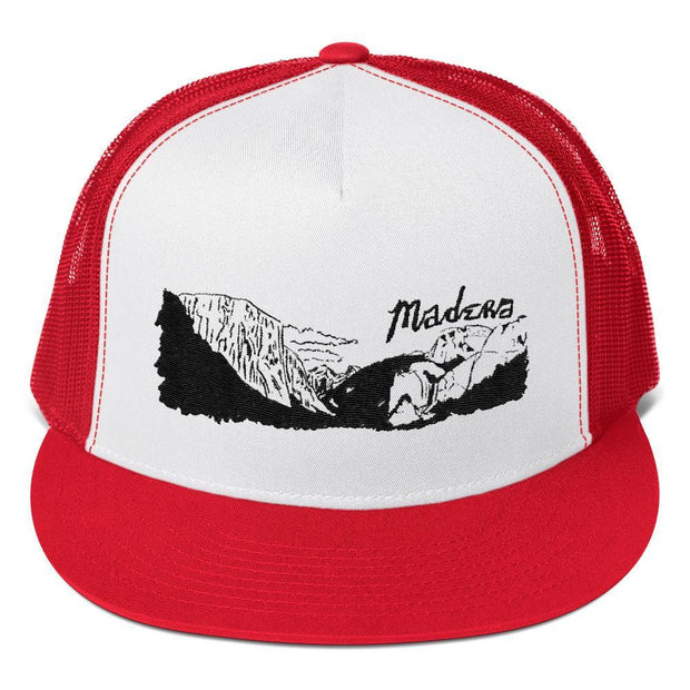 Madera Outdoor  hats Red/ White/ Red El Cap madera outdoor hammock companies that plant trees best camping hammocks cheap camping hammocks cheap hammocks cheap backpacking hammocks