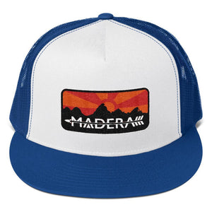 Madera Outdoor  Hats Royal/ White/ Royal Patch Trucker Cap madera outdoor hammock companies that plant trees best camping hammocks cheap camping hammocks cheap hammocks cheap backpacking hammocks