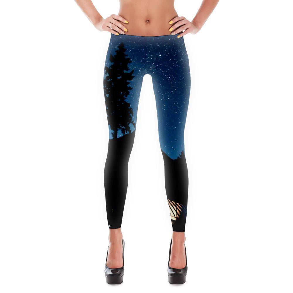 Tree Outline Leggings Madera Outdoor