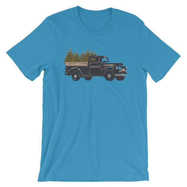 Madera Outdoor Loyalty Program Carolina Blue / S Seed Points Truck Tree-shirt