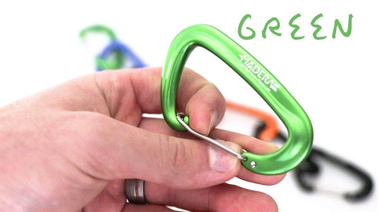 Madera Outdoor Loyalty Program Green Seed Points Carabiners - Hammock Upgrades