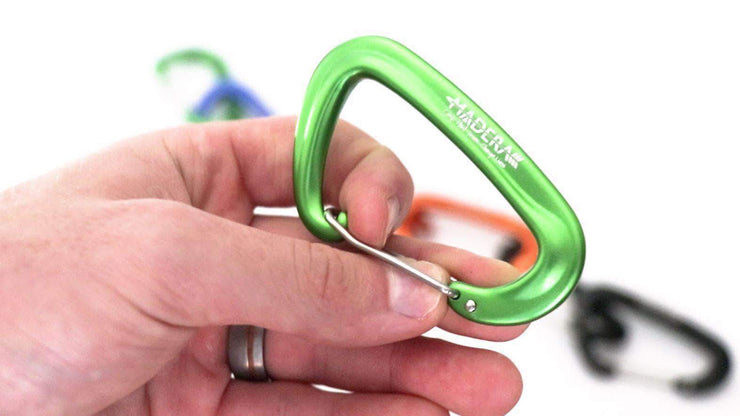 Madera Outdoor Loyalty Program Seed Points Carabiners - Hammock Upgrades