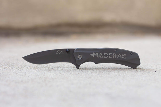 Madera Outdoor Loyalty Program Seed Points Knife