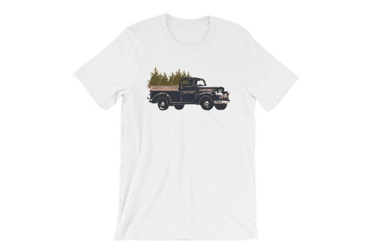 Madera Outdoor Loyalty Program Seed Points Truck Tree-shirt