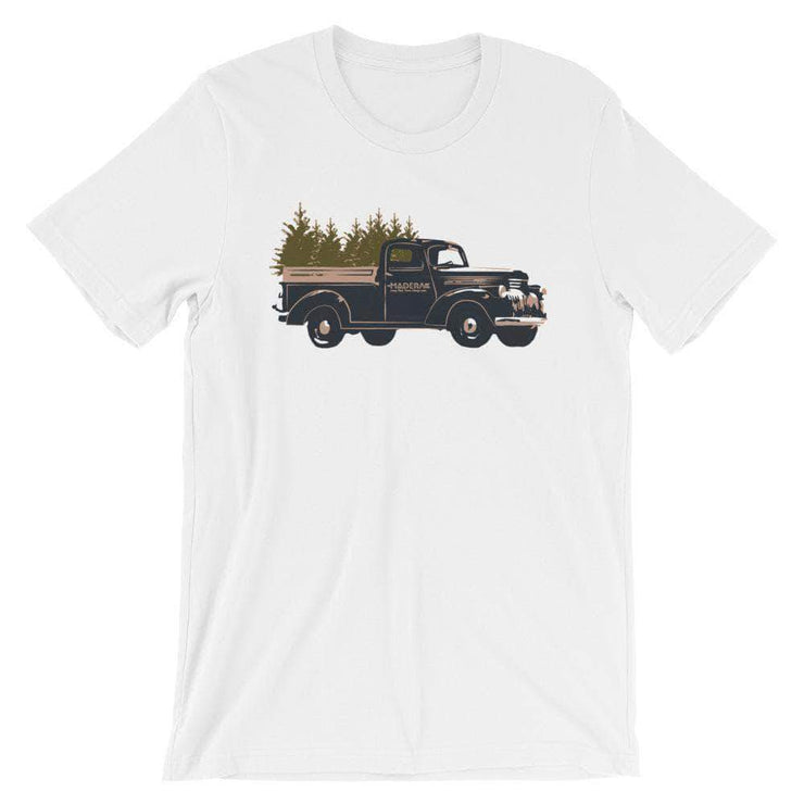 Madera Outdoor Loyalty Program White / S Seed Points Truck Tree-shirt
