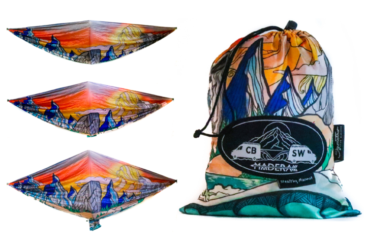 Madera Outdoor Non Discountable Promo Stealthy Marmot Any Hammock + FREE Adventure Snapback Hat