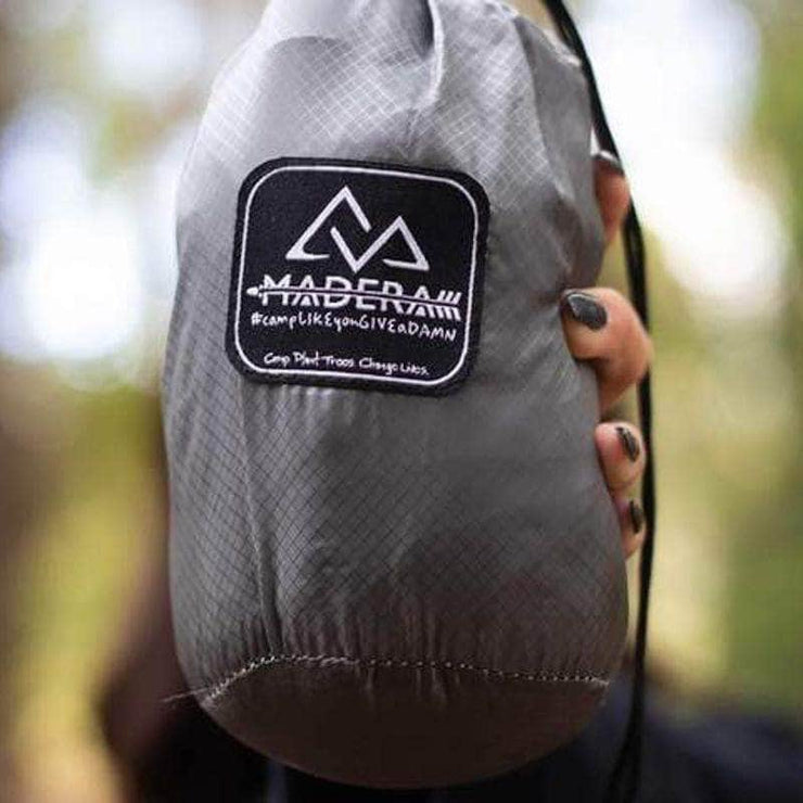 Madera Outdoor Pocket Hammock <7oz. Cenzia Madera Ultralight Pocket Hammock madera outdoor hammock companies that plant trees best camping hammocks cheap camping hammocks cheap hammocks cheap backpacking hammocks