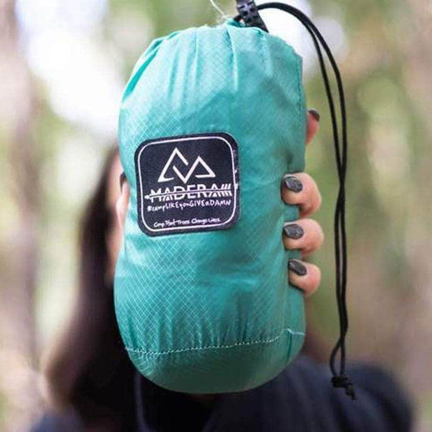 Madera Outdoor Pocket Hammock <7oz. Conifer Madera Ultralight Pocket Hammock madera outdoor hammock companies that plant trees best camping hammocks cheap camping hammocks cheap hammocks cheap backpacking hammocks