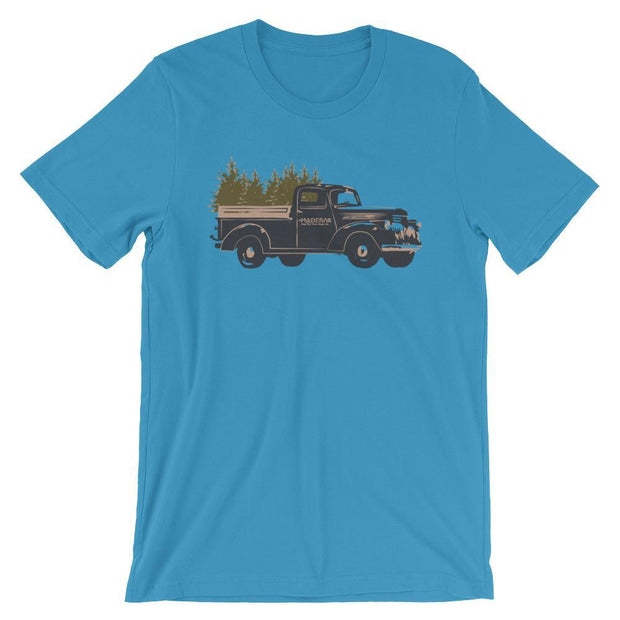 Madera Outdoor  Shirts Carolina Blue / S Truck Tree-shirt madera outdoor hammock companies that plant trees best camping hammocks cheap camping hammocks cheap hammocks cheap backpacking hammocks