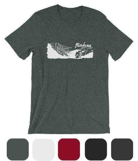 Madera Outdoor  Shirts Dark Heather Gray / S El Cap Tree Shirt