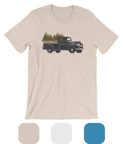 Madera Outdoor  Shirts White / S Truck Tree-shirt