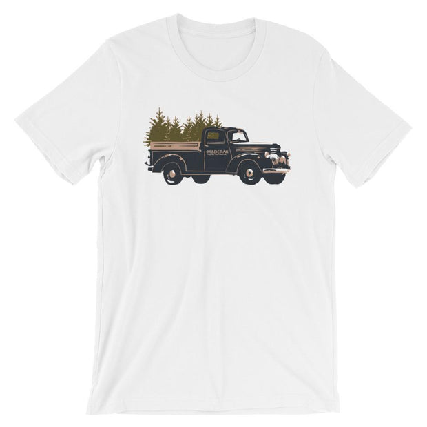 Madera Outdoor  Shirts White / S Truck Tree-shirt madera outdoor hammock companies that plant trees best camping hammocks cheap camping hammocks cheap hammocks cheap backpacking hammocks