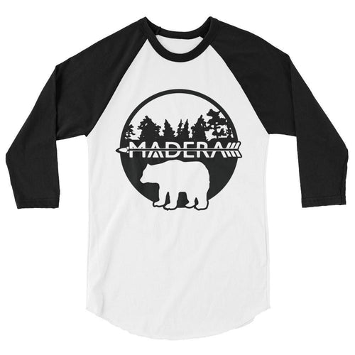 Madera Outdoor  White/Black / XS 3/4 Sleeve Bear Shirt madera outdoor hammock companies that plant trees best camping hammocks cheap camping hammocks cheap hammocks cheap backpacking hammocks
