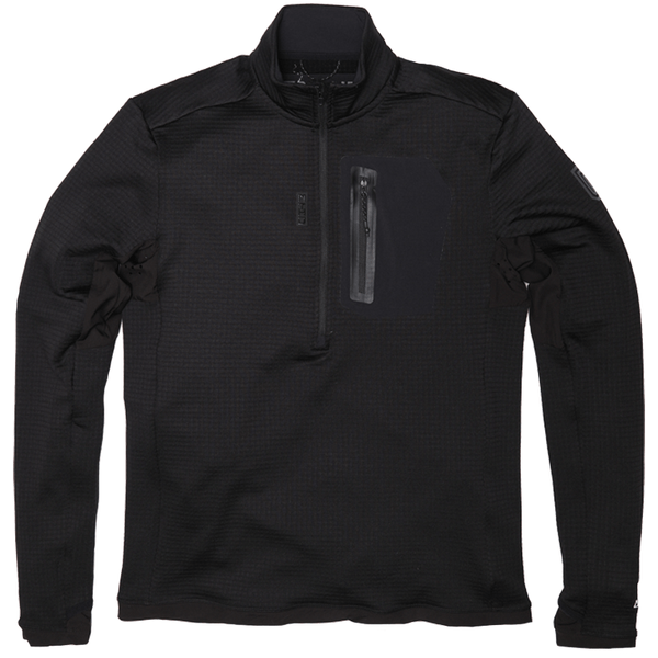Tactical Distributors Tactical Distributors Black / Small MTHD Meridian Grid Fleece Half Zip Pullover - L2 madera outdoor hammock companies that plant trees best camping hammocks cheap camping hammocks cheap hammocks cheap backpacking hammocks
