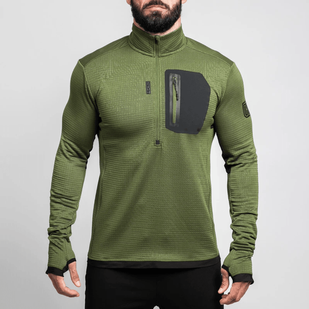 Tactical Distributors Tactical Distributors MTHD Meridian Grid Fleece Half Zip Pullover - L2 madera outdoor hammock companies that plant trees best camping hammocks cheap camping hammocks cheap hammocks cheap backpacking hammocks