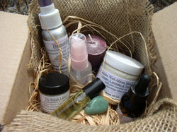Sage's Monthly Gift Box~Aromatherapy, Crystals, Candles, Spa gifts
