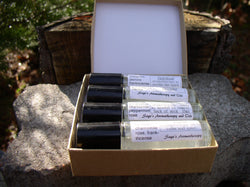 Natural Perfume Gift Box~essential oil perfume, roll-on vial set