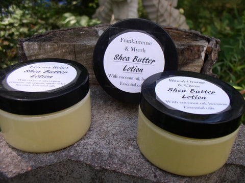 Body Lotion~Shea Butter~ultra moisturizing/no chemicals/Healing Skin care   Sage's Aromatherapy