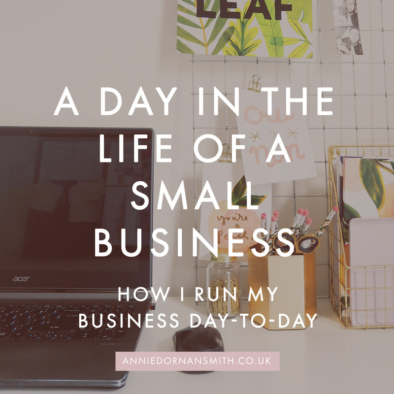 Video: A Day in the Life of My Small Business