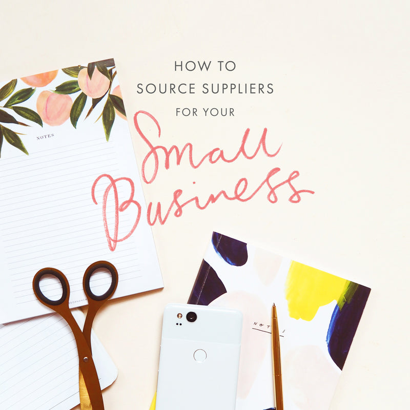 How to Source Suppliers for your Small Business