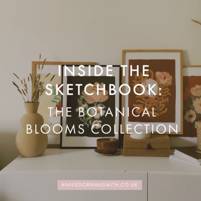 Inside The Sketchbook - The Botanical Blooms Collection