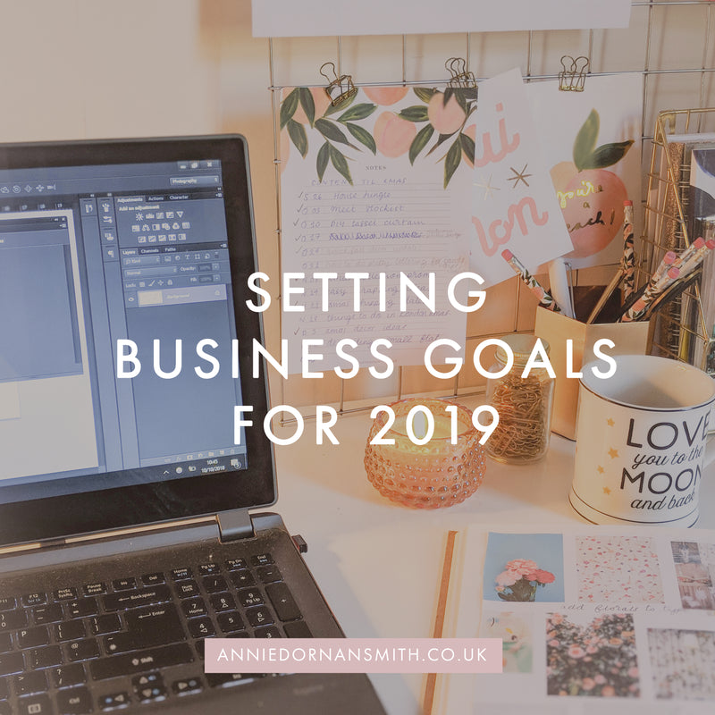 Setting Goals for 2019