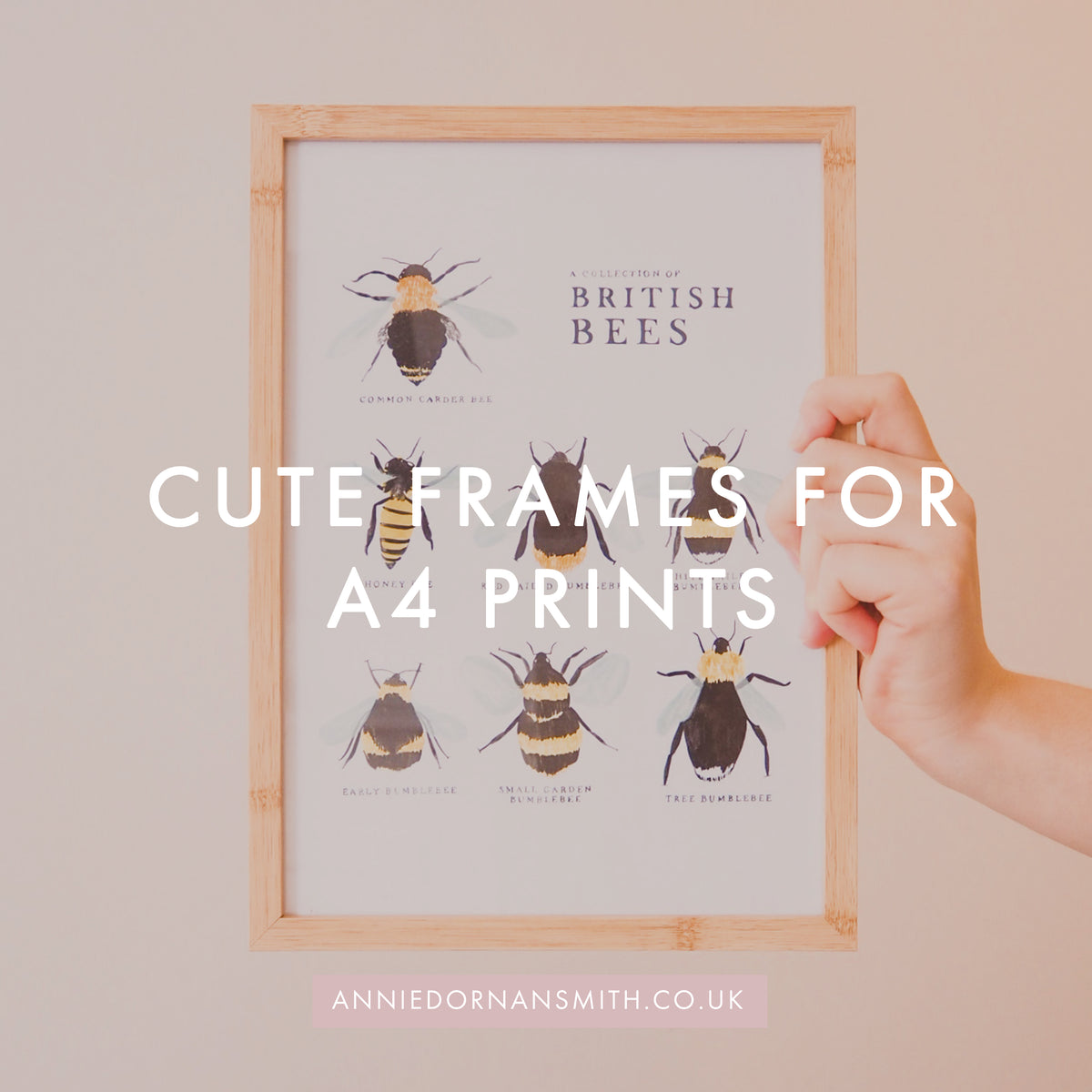 cute frames for A4 prints