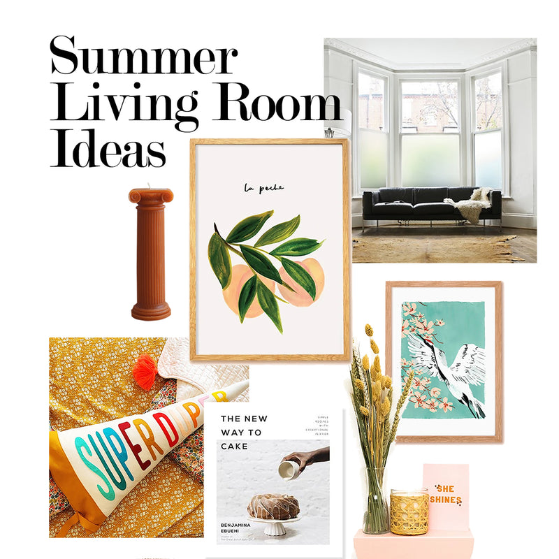 Summer Living Room Decor Ideas - Annie Dornan Smith