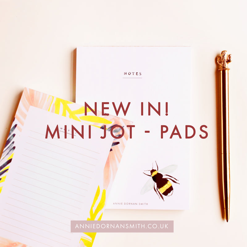 New In: Jot Pads!