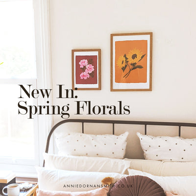 New In : Spring Florals