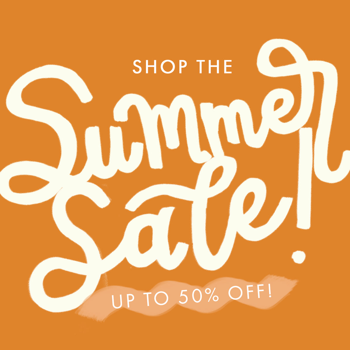 It's Summer Sale Time!