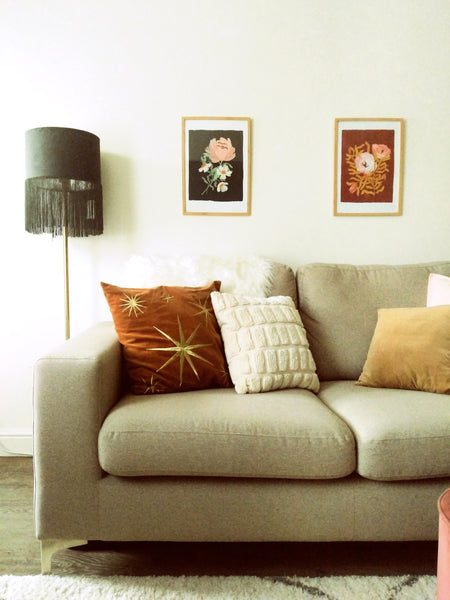 styling a narrow living room - Annie Dornan Smith