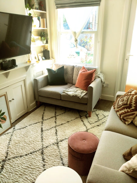 styling a narrow living room